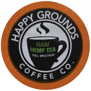 Raw Hemp Tropical Green Tea - Full Spectrum