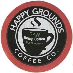 Raw Hemp Dark Roast Coffee